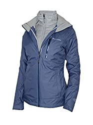 Columbia Women's Nordic Point Ii Interchange 3 In 1 Winter Omni Heat Ski Jacket (S)
