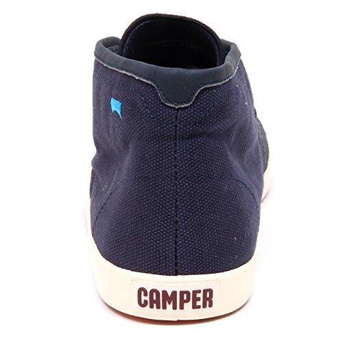 Box Blu Blue Shoe Camper Tissue Scarpa Suede Men D4894 Without Uomo xU1USq