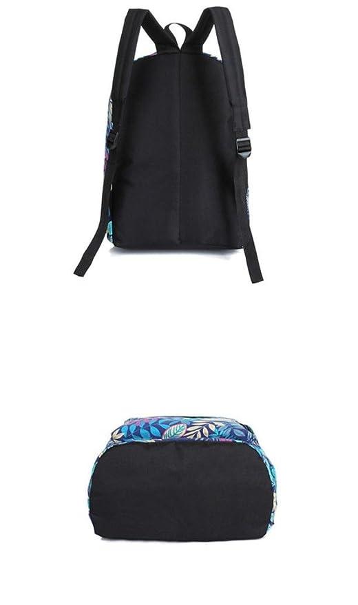 Amazon.com: lotus.flower 2018 Leaves Printing Sport Backpack Student Bag Shoulder Bag Sport School Bags Lightweight for Lovers Adult Children Boys Girls ...