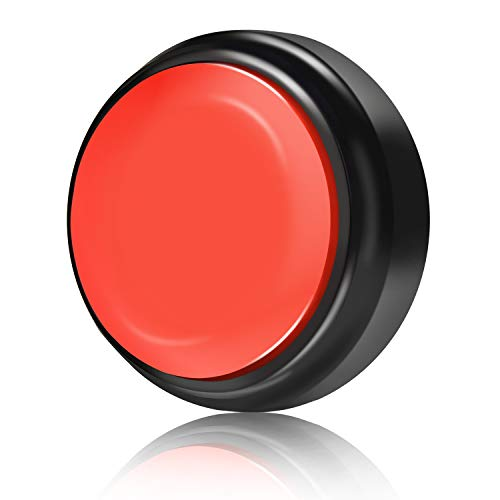 Neutral Record Talking Button (Black+Red) ()