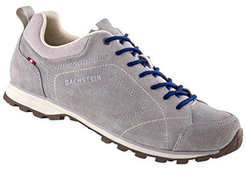 Dachstein - Zapatillas de senderismo de Piel para hombre gris