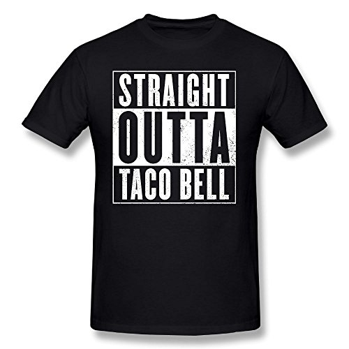 CAPTAIN VIKINGS Straight Outta Taco Bell Cotton T Shirt