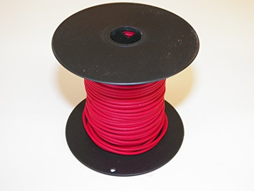 - RED Automotive GXL Copper Wire, 14 GA, AWG, GAUGE .116. High Heat, Resist Abrasions. For Truck, Motorcycle, RV. General Purpose. DEFFERENT LENGTHS AVAILABLE. (100 FOOT SPOOL)