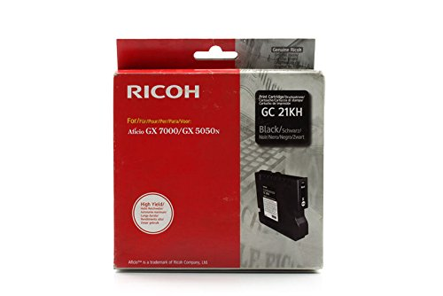 Lanier GX 7000 -Original Ricoh 405532 / GC-21K - Black Gel ink Cartridge (21k Black Toner)