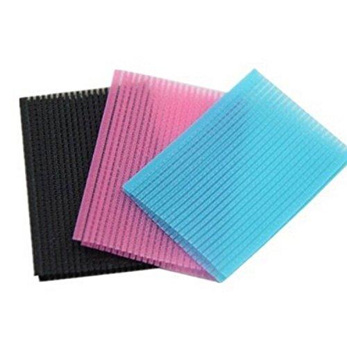6 Pcs Bangs Clip Magic Paste Posts Fringe Hair Bangs Stickers Velcro Hair Accessory Hairdressing Tool (Random Color)