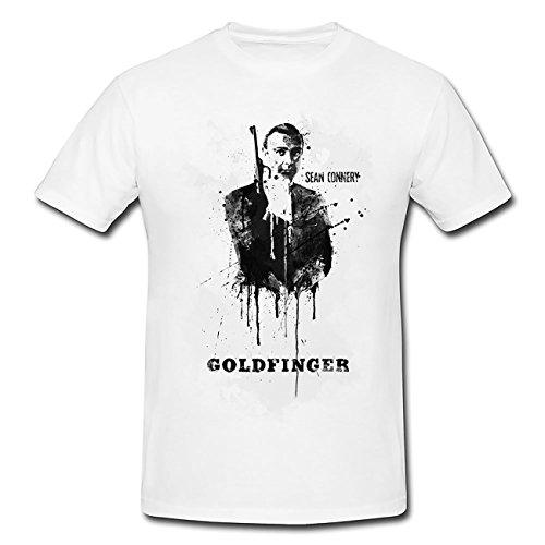 Goldfinger T-Shirt Herren, Men mit stylischen Motiv von Paul Sinus