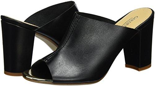 Copenhagen Nero Pantofole Slippers vaquetta Donna Heel On Black Gardenia FxdfZwqf