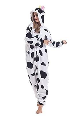 Ifboxs Unisex Adult Animal Christmas Onesie Pajamas Cosplay Costume Loungewear