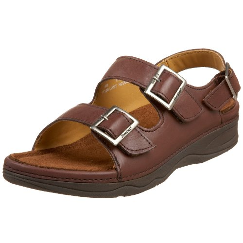 Drew Shoe Women's Sahara Sandal,Brown,11.5 WW US by Drew Shoe
