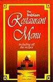 The Indian Restaurant Menu Recipes, Sonia Allison, 0572017030