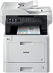 Brother MFC-L8900CDW Business Color Laser All-in-One Printer, Advanced Duplex & Wireless Networking, Business Printing, Flex