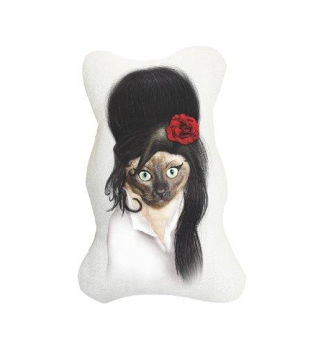 Platinum Pets Pet Starz Canvas Catnip Cat Toy, Rehab - Lady Gaga Cat