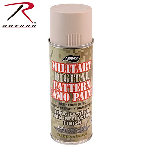 Rothco Spray Paint - 16 Oz (Net 12 Oz)/Desert Sand