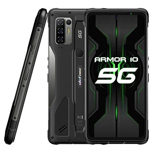 5G Móvil Resistente Ulefone Armor 10【2021】, Dimensity 800 8GB RAM 128GB ROM 2TB SD Externa, 64MP Quad Cámara, Smartphone…
