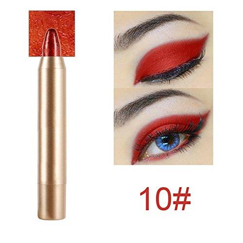 Gracefulvara Natural Matte Glitter Eye Shadow Nude Eyeshadow