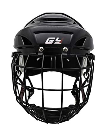64c0ac68708 GY 2018 New Upgrade Hockey Helmet Combo Soft no Chucking Filed Hockey Helmet  Player Helmet with