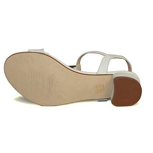 Sandalia de mujer - Maria Jaen modelo 4950X Blanco