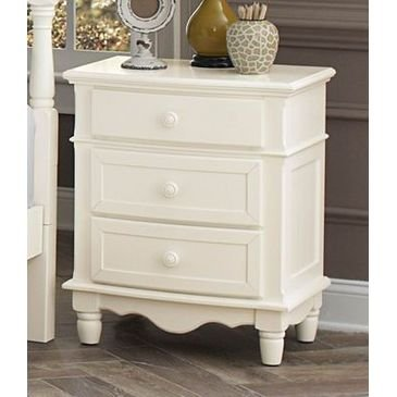 (Homelegance Clementine Night Stand In Antique White)