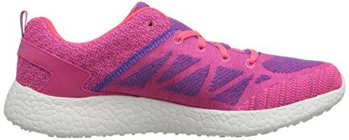 Skechers Sport Vrouwen Burst Mode Sneaker Roze / Paars