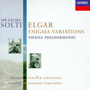 Elgar: Enigma Variations / Peacock Variations / Paganini Variations