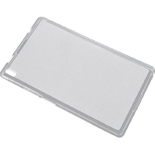 Feicuan Slim TPU Gel Rubber Soft Skin Case Cover for Lenovo TB-8804F TB-8804N / Tab4 8 Plus TB-8704V
