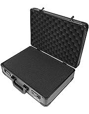 HMF 14402900 Aluminium fotokoffer, wapenkoffer met rasterschuim, verschillende maten