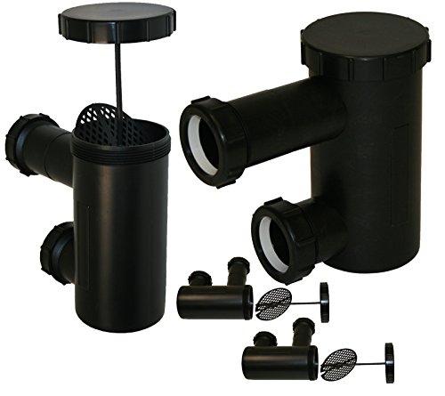 4 LCL Beauty Universal P-Traps Shampoo Bowl Sink Hair PVC