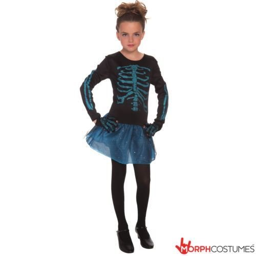 Girls (Spooky Skeleton Costumes)