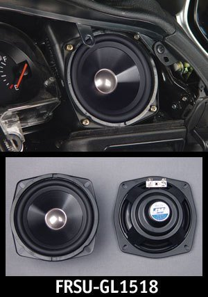 J&M Performance Speaker Upgrade For Honda Gold Wing 1988-2005 Fairing Position or 2001-2012 Rear Position - FRSU-GL1518 ()