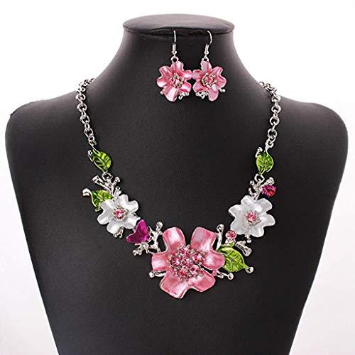 Necklace,Voberry Fashion Sweet Chain Temperament Wild Flower