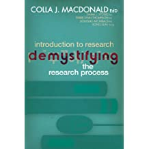 Introduction to Research: Demystifying the Research Process