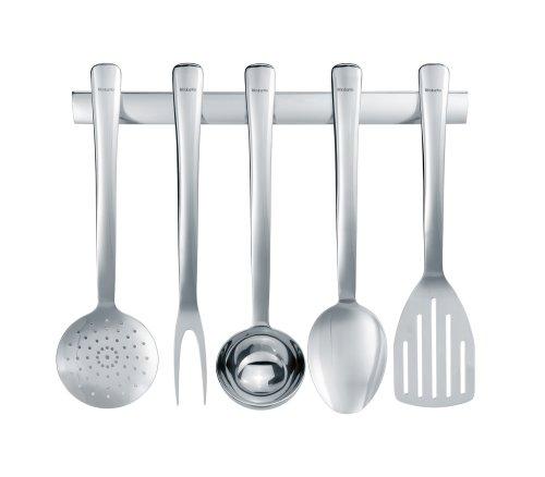 Brabantia s line juego de utensilios de cocina acero for Juego de utensilios de cocina