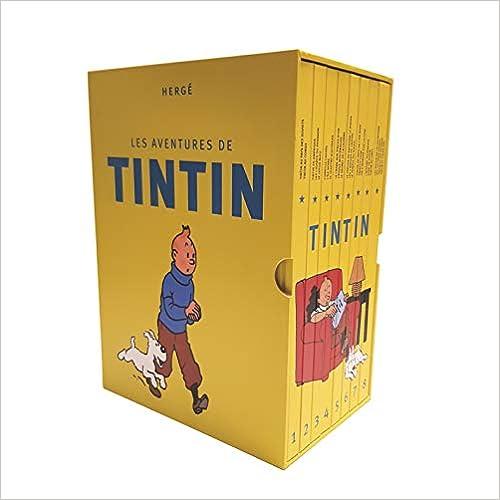 Les Aventures De Tintin, Intégrale : Coffret En 8 Volumes : La Collection Complète por Herge epub