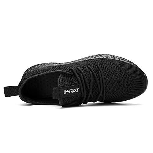 FUJEAK Hommes Chaussures De Course Hommes Casual Chaussures De Marche Respirantes Sport Baskets Athlétiques Gym Tennis… 4