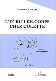 L'écriture-corps chez Colette par Carmen Boustani