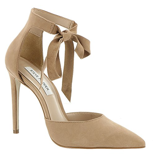 Steve Madden Heart Women's Pump 7 B(M) US Camel - Ankle Tie Pump