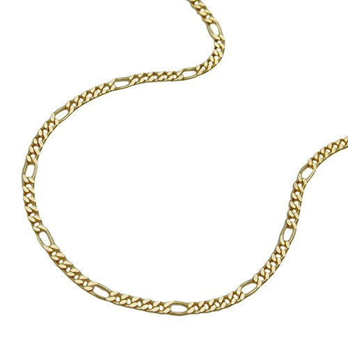 Necklaces, FigaroNecklaces 45cm, 9Kt GOLD