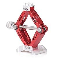 1PC Adjustable 6 Ton Aluminum Alloy Scale Jack Stands for 1/10 RC4WD D90 SCX10 Rock Crawler Rc Car