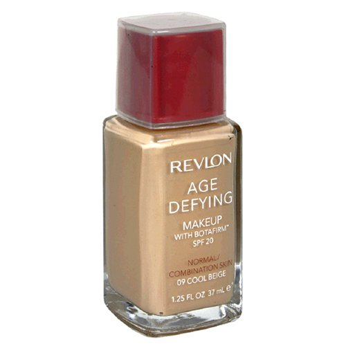 Revlon Age Defying Makeup with Botafirm, SPF 20, Normal/Combination Skin, Cool Beige 09, 1.25 Ounce