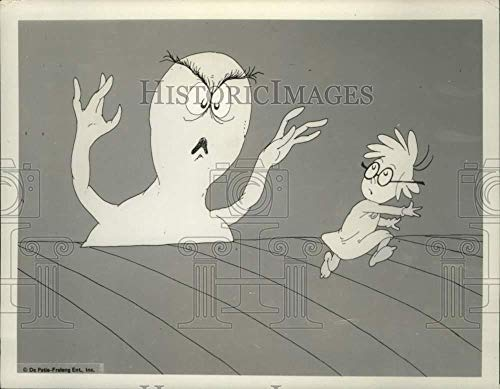 Vintage Photos 1980 Press Photo Dr. Seuss Program Halloween is Grinch Night on ABC. ()