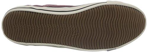 Sneaker Top Mustang Rot Herren 4058305 55 Bordeaux High qwABzFApH
