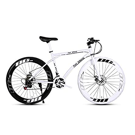 LRHD Men's and Women's Road Bicycles, 24-Speed...