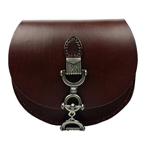 Cuir Leather Nouveau Rétro Tanné 2018 HJLY Sac Main épaule à Chocolat Tendance Végétal Messenger En Selle Sac Sac Dames 0wdHHq