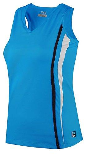 Fila Tennis Women's Center Court Racerback Dress, Medium, Blue