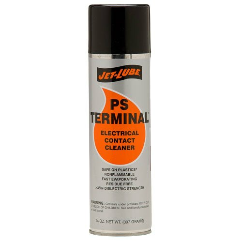 Jet-Lube PS Terminal CFC-Free Electrical Contact Cleaner, 14 oz Aerosol