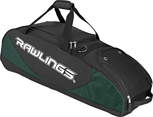 Rawlings Bat Bag Wheeled Dk.Green 4 PPWB-DG