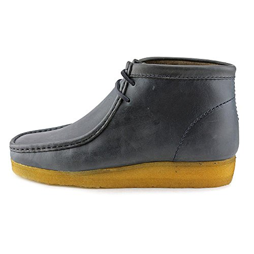 Clarks Originals Wallabee Petrol Blue Leather