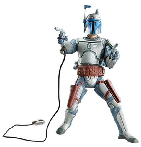 Star Wars - The Saga Collection Episode II Attack of The Clones - Basic Figure  - Jango Fett]()