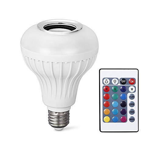 Led Light Bulb Bluetooth Speaker in US - 7