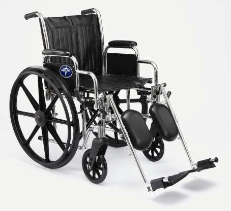 Electrode Arm (Medline 2000 Excel Wheelchairs Desk Length Arm, Elevating Legrest)